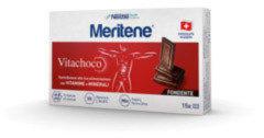 Meritene Vitachoco cioccolatini al cioccolato fondente con vitamine e minerali 15 pezzi