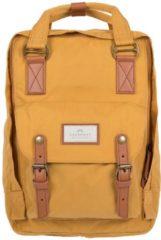 Doughnut Macaroon Backpack Backpack geel