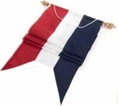 Vrolijk Vlaggen Wimpel Nederland - Nederlandse Wimpel Rood Wit Marineblauw 250cm