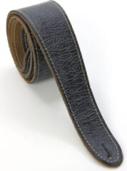 Fender Road Worn Strap Black lederen gitaarband