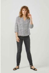 Antraciet-grijze Didi slim fit jeans antraciet