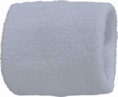 Arowell Premium Pols Zweetbandjes 8 cm - Wit (2 stuks)