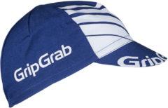 GripGrab - Classic Cycling Cap - Fietsmuts maat One Size, blauw/grijs