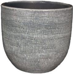 HS Potterie Grijze Pot Stockholm 28x26 / set van 2 - Grijze Pot Stockholm 28x26 / set van 2