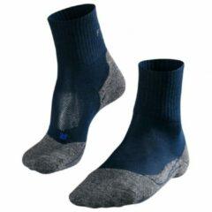 Falke Womens Tk2 Coolmax Shorty Outdoor Sokken Blauw Heren - Navy Blue. Size - 39