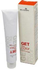 Paarse Elgon Get the Color Permanente kleurcrème Haarkleur Kleurselectie 100ml - # 4.7 Brown Violet / Braun Violett / Castano Viola
