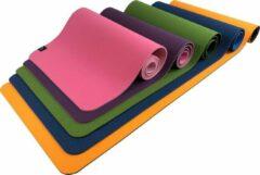 Paarse Sportbay Eco Deluxe - Fitnessmat / Yogamat - 183 x 61 cm - Roze