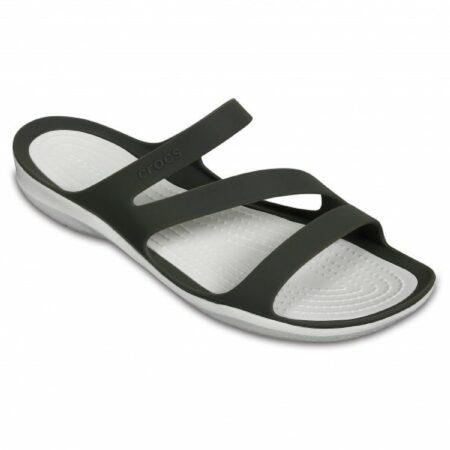 Afbeelding van Crocs - Women's Swiftwater Sandal - Sandalen maat W7, grijs