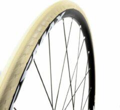 Witte Tannus Buitenband New Slick Airless 28 X 1.00 (25-622) Beige