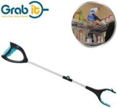 Grabit Grab It - Grijparm 90 graden draaibaar - Beste Koop 2019 - Ratcheting Tool Pick up-tool opvouwbare grijper met led-light en ingebouwde magneet