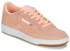 Witte Reebok Club C 85 Sneakers Dames - Premim Basic 3-Peach Twist/Gum/White