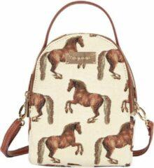 Bruine Signare - Mini Backpack - Schoudertas - Paard - Paarden - Whistlejacket - George Stubbs