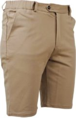Beige Ferlucci heren short stretch paulo sand