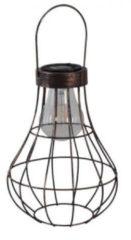 Luxform Hanglamp Manchester Solar 19,8 X 27 Cm Staal Koper