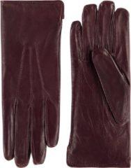 Paarse Laimböck Dames Handschoenen London Paars Maat 8