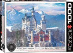 Eurographics puzzel Neuschwanstein Castle in Winter - 1000 stukjes