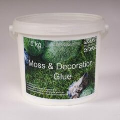Merkloos / Sans marque Mos en decoratie lijm 5 kg.