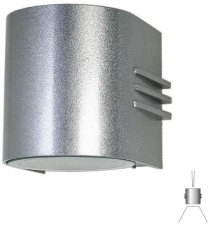 Afbeelding van Albert Wandlamp Facade met 2 powerleds up en down Albert-Leuchten 692307