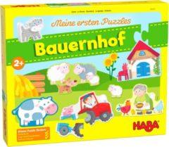 Haba legpuzzel Mijn Eerste Puzzels boerderij 14 stukjes (DE)