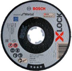 Bosch Accessoires X-LOCK Slijpschijf Expert for Metal 125x2.5x22.23mm, recht - 25 stuk(s)