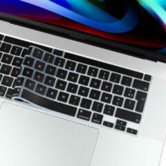 Lunso (EU) Keyboard bescherming - MacBook Pro 16 inch / Pro 13 inch (2020) - Zwart