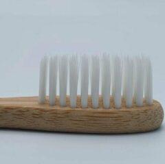 Bamboe Tandenborstel – Wit - Milieuvriendelijk – Recyclebaar - oDaani