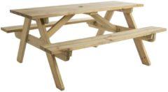 Pine Woburn Picknicktisch - 148 cm