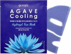 Petitfée Petitfee- Agave Cooling Hydrogel Face Mask-5pcs