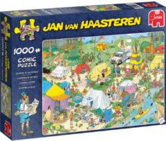 Jumbo Jan van Haasteren legpuzzel Kamperen in het Bos Puzzel 1000 Stukjes