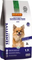 Biofood Sensitive Small Breed - Hondenvoer - Zalm Erwt Aardappel 1.5 kg Graanvrij