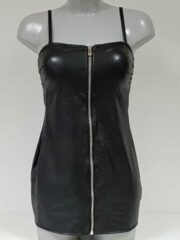 Zwarte fuel for passion darci black dress