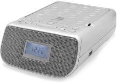 Soundmaster URD860SI Uhrenradio, mit CD/MP3 und USB, in silber