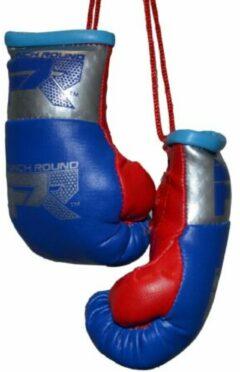 Punch Round™ Punch Round Mini Carhanger Bokshandschoenen Blauw Zilver Rood