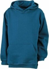 James & Nicholson James and Nicholson Kinderen/Kinderkapjes Sweatshirt (Benzineblauw)