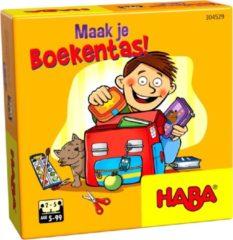 Rode Haba kinderspel maak je boekentas (NL)