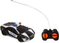 2-Play politieauto met afstandsbediening USA 15,5 cm zwart
