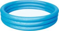 BSTW Blauwe opblaas zwembad voor in de tuin 152cm