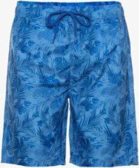 Osaga heren zwemshort met bloemenprint - Blauw - Maat L