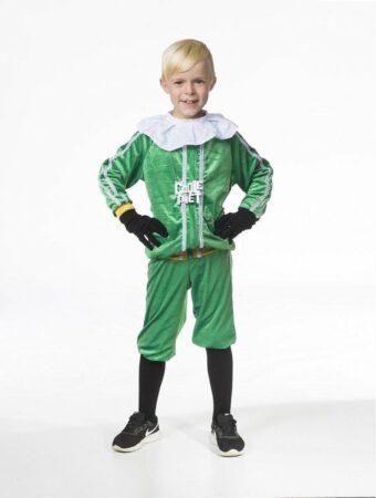 Afbeelding van Rubies Coole piet ( groene broek met vest jongens) - Maat 12793-128