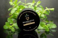 Zwarte Bellezzastyle: Carbon Powder- Mint Flavour