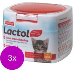 Beaphar Lactol Kitty Milk - Melkvervanging - 3 x 500 g