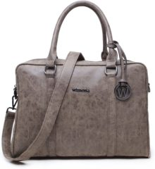 Clarks Wimona Luciana 2010 - Dames Laptoptas - 15,6 inch - Taupe