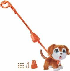Bruine Hasbro FurReal Poopalots Big Wags Hond - Interactieve Knuffel