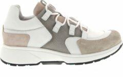 Witte Xsensible Stretchwalker Vrouwen Leren Sneakers - 30207.3 perf - 37