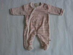 Roze Pyjama noukie's 1maand 56cm meisje streep rose