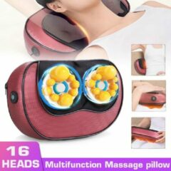 Rode CXX Massage - massage kussen - nekmassage apparaat - massage apparaten - massagekussen - nekkussen - massage gun - massage apparaten nek en rug - nekmassage - nek massage apparaat - reiskussen - shiatsu massagekussen