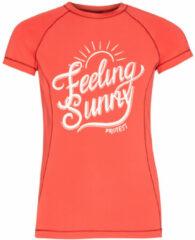 Roze Protest BENTA JR rashguard short sleeve surf t-shirt meisjes