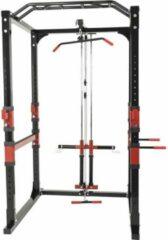 Rode Gorilla Sports Power Lifting Cage met Verstelbare haltersteunen