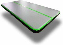 Dutchairtrack AirTrack Pro type 2021- Turnmat - Gymnastiek groen zwart| 4 x 2 x 0,20 meter | Sporten & Spelen | Buiten & Binnen | Waterproof | Met elektrische pomp