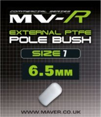 Witte Maver MV-R External Pole Bush - Maat 7 - 6.5mm